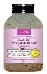 CosmoSPA Naturalna sól do kąpieli Lawenda& Rozmaryn 600g