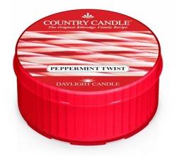 Country Candle Daylight Świeczka Peppermint Twist