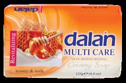 DALAN Multi Care mydło w kostce Honey&Milk 90g