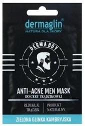 DERMAGLIN Men Mask Anti-Acne Maseczka do twarzy dla cery trądzikowej 20g