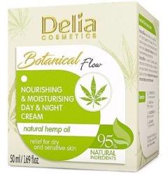 Delia Botanical krem Odżywczo-Nawilżający Dzień/Noc 50ml