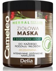 Delia Cameleo Ziołowa bezbarwna maska do każdego rodzaju włosów 250ml
