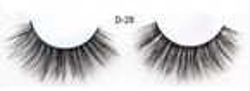 Deni Carte 3D Mink Eyelashes D-28 Sztuczne rzęsy 1 para