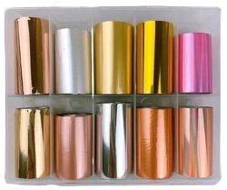 Deni Carte Folia Transferowa Kolor Mix KPL 10szt. 4cm nr.1