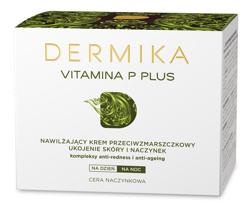 Dermika Vitamina P Plus Przeciwzmarszczkowy krem nawilżający 50ml