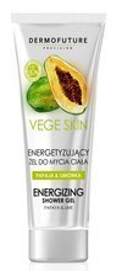 DermoFuture Vege Skin Energetyzujący Żel do mycia ciała 200ml