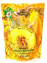 Energy of Vitamins mydło zapas Melon 450ml