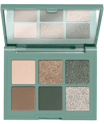 Essence Dancing Green paleta cieni do powiek 4,5g