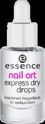 Essence Express Dry Drops Preparat przyspieszający schnięcie lakieru 8ml