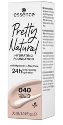Essence Pretty Natural Nawilżający podkład do twarzy 24h 040 Neutral Vanilla 30ml