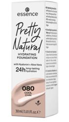 Essence Pretty Natural Nawilżający podkład do twarzy 24h 080 Cool Chai 30ml