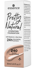 Essence Pretty Natural Nawilżający podkład do twarzy 24h 240 Warm Honeycomb 30ml