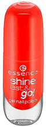 Essence Shine Last&Go! Żelowy lakier do paznokci 15 Heatwave 8ml