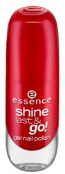 Essence Shine Last&Go! Żelowy lakier do paznokci 16 Fame fatal 8ml