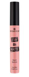 Essence Stay 8h MATTE Liquid Lipstick Matowa pomadka w płynie 01 Hello sunrise! 3ml