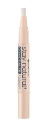 Essence Stay Natural + Concealer Korektor do twarzy 20 gentle beige 1,5ml