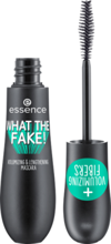 Essence What the fake! Mascara Tusz wydłużająco- pogrubiający 01 Black 16ml