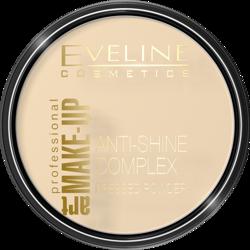 Eveline Cosmetics Art Make-Up Mineralny puder matujący z jedwabiem 30 Ivory 14g