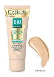 Eveline Cosmetics BIO Organic Krem Magical CC z mineralnymi pigmentami SPF15  03 vanilla 30ml