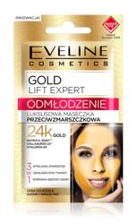 Eveline Cosmetics GOLD Lift Expert Luksusowa maseczka przeciwzmarszczkowa 3w1 7ml