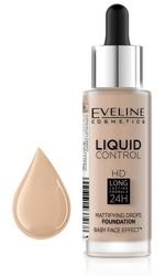 Eveline Cosmetics Liquid Control HD Matujący podkład do twarzy 030 Sand Beige 32ml