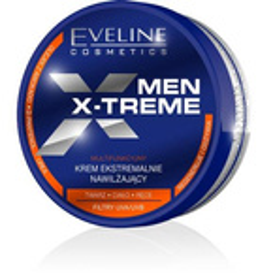 Eveline Cosmetics Men X-treme Sensitive Łagodzący krem silnie nawilżający do twarzy, ciała i rąk 100ml