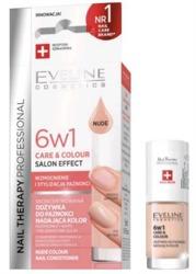 Eveline Cosmetics Odżywka do paznokci 6w1 Care&Colour nadająca kolor Nude 5ml