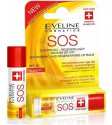 Eveline Cosmetics SOS Argan Oil Odżywczo-regenerujący balsam do ust