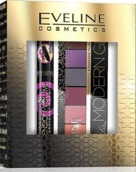 Eveline Cosmetics ZESTAW Tusz do rzęs Extension Volume + Paleta cieni Modern Glam