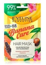 Eveline Food for Hair maska do włosów Banana Care 20ml