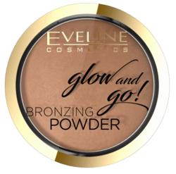 Eveline Glow&GO Bronzing Powder Wypiekany puder bronzujący 02 Jamaica Bay 8,5g