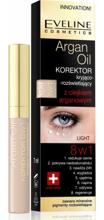 Eveline Korektor kryjąco -rozświetlający z olejkiem arganowym 8w1 Light 7 ml