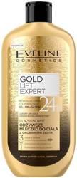 Eveline Luxury Expert Luksusowe odżywcze mleczko z drobinkami złota do ciała 350ml