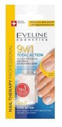 Eveline Nail Therapy 9w1 Total Action Odżywka do paznokci stóp 12ml