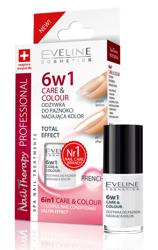 Eveline Odżywka do paznokci nadająca kolor 6w1 FRENCH