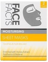 FaceFacts Sheet Mask Moisturising Nawilżająca maska w płachcie 2szt.