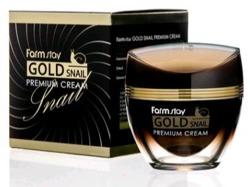 FarmStay 24K Gold Snail regenerujący krem ujędrniający ze złotem i mucyną 50ml