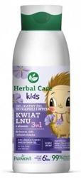Farmona Herbal Care Kids Delikatny żel do kąpieli i mycia Kwiat Lnu 400ml