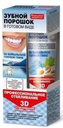 Fitokosmetik Proszek dentystyczny w postaci pasty Profesjonalne wybielanie 5w1 na bajkalskiej glince 45ml