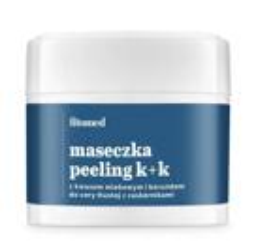 Fitomed Maseczka-Peeling K+K korund i kwas mlekowy 4%, 50g