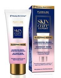 Floslek Skin Care - Całonocna maska regenerująca 75ml