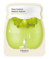 Frudia Green Grape Pore Control Sheet Mask Oczyszczająco-odświeżająca maska w płachcie 27ml