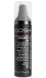 GOSH Coconut Oil Moisturizing Hair Oil - Kokosowy, nawilżający olejek do włosów, 50 ml