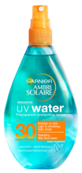 Garnier Ambre Solaire UV Water SPF30 Spray przeciwsłoneczny 150ml