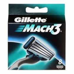 Gillette Mach 3 Wkłady 8 Ostrzy