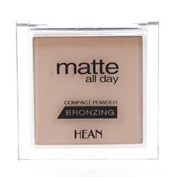 HEAN Matte All Day Bronzing - Puder Brązujący Matowy - 505 Jamaica Sun