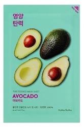 Holika Holika Mask Sheet Pure Essence Avocado - Maseczka do twarzy w płachcie z ekstraktem z avokado 20ml