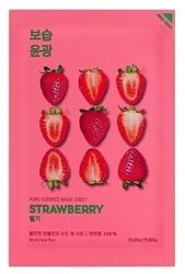 Holika Holika Mask Sheet Pure Essence Strawberry - Maseczka do twarzy w płachcie z ekstraktem z truskawek 20ml