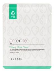It's Skin Green Tea Watery Mask Sheet Regulująca maseczka do twarzy w płacie 17g