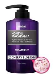 KUNDAL Honey&Macadamia Treatment CHERRY BLOSSOM Odżywka do włosów Kwiat wiśni 500ml